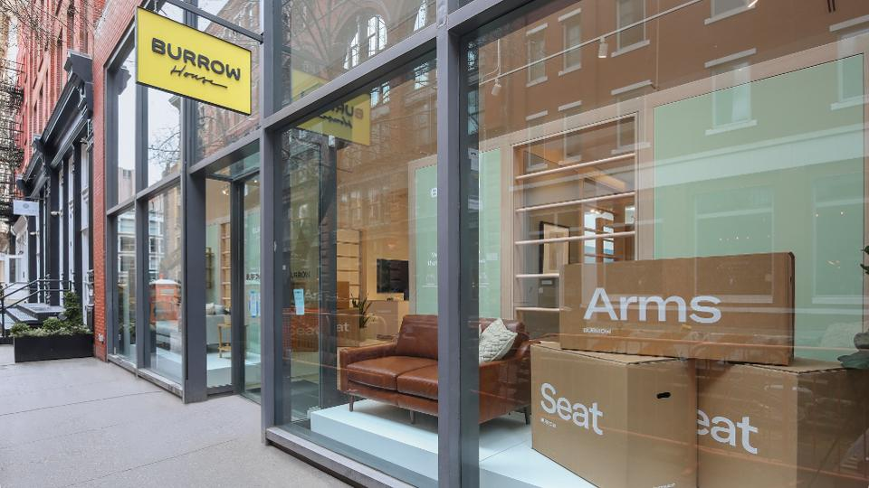 Furniture Disruptor Burrow Has A New Idea For Its Stores: Retail Roommates
